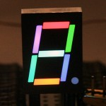 DIY RGB 7-segement display